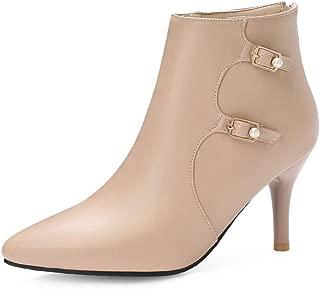 BalaMasa Womens ABS14049 Pu Boots