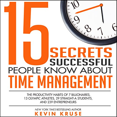 15 Secrets Successful People Know About Time Management Titelbild