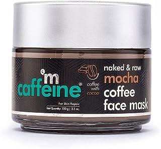 mCaffeine Mocha Coffee Face Pack Mask   Fights Skin Damage, Sebum & Oil Control   Cocoa, Kaolin & Bentonite Clay   For Ski...