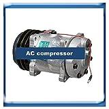 GOWE ac compressor for Sanden 7H15 ac compressor for Agco Massey Ferguson 3763384M91 7960 40405271 3779466M1