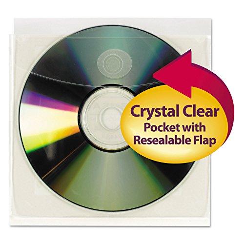 Smead CD/Diskettenhüllen, selbstklebend, 10 Stück, 68144