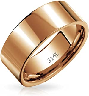 Best rose gold cigar band ring Reviews