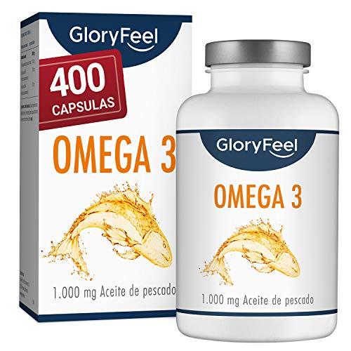 Omega 3 Aceite de Pescado 1000 mg - 400...