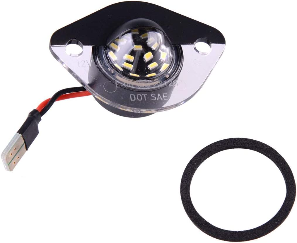 KENZAVO 1 Pair Car LED License Lamp XR3Z13550AA Many popular brands Plate Light OFFicial shop Fit