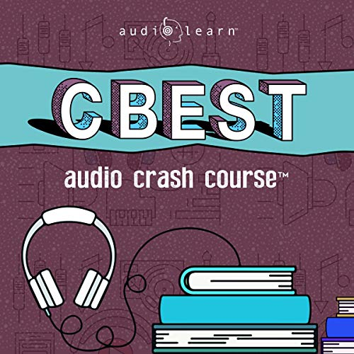 CBEST Audio Crash Course audiobook cover art