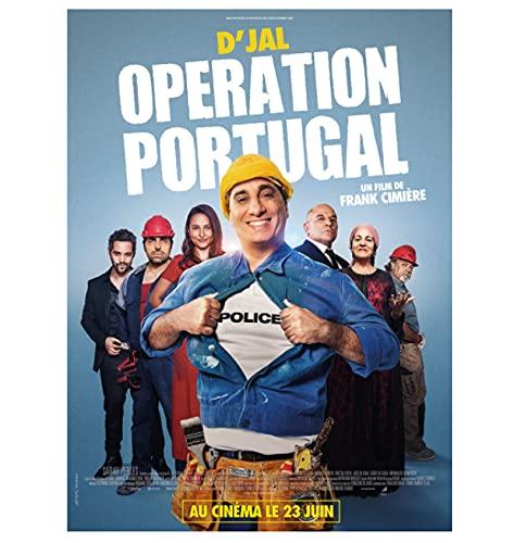 Opération Portugal Chaude Classique Film Couverture Mur Art Toile Peinture Affiche Image Salon Décor À La Maison Cadeau-60x80 cm pas de cadre