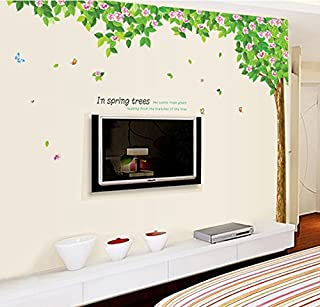 SYGA Natural Tree Wall Stickers Wall Decals Wall Decor Stickers Large Size Sticker
