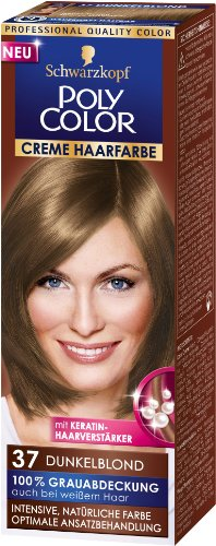 Poly Color Cremefarbe 37 dunkelblond