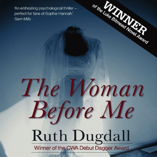 The Woman Before Me audiobook cover art