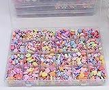Febbya Kinder Perlen,650 Stück Armband Perlen Ketten Perlen Bunte für Mädchen Kinder Basteln...