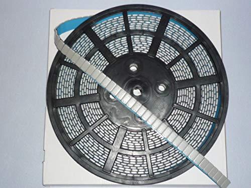 Stahl-Klebegewicht auf Rolle 6 kg kunststoffbeschichtet grau, Auswuchtgewichte 986900
