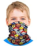 'Nickelodeon Boys Paw Patrol Gaiter Face Mask with UV Sun Protection, Size 4-10, Paw Patrol'