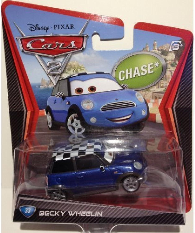 Disney Pixar Cars 2, Movie DieCast Vehicle, Becky Wheelin  33, 1 55 Scale by Mattel by Cars 2