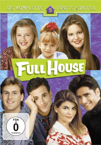 Full House - Die komplette 5. Staffel (4 Discs)[NON-US FORMAT, PAL]