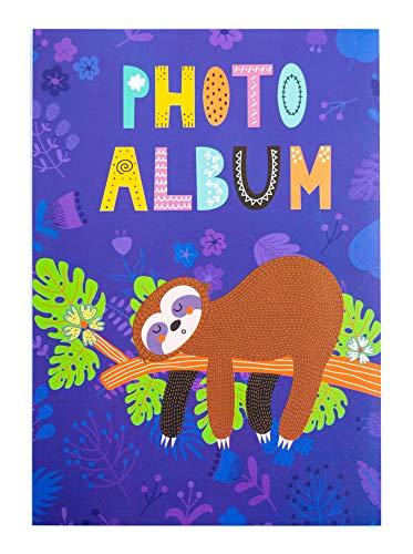 Erik® - Album foto 10x15 cm, 36 tasche, copertina morbida - Bradipo Pigrone