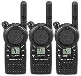 3 Pack of Motorola CLS1410 Two Way Radio Walkie Talkies (UHF)