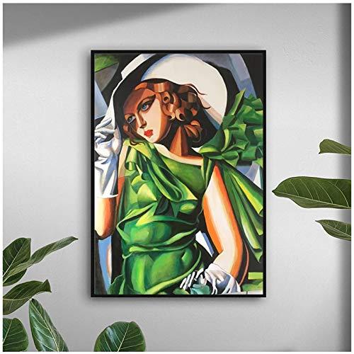 linshel Pittura su Tela Wall Art Ibsen Casa delle Bambole Poster e Stampe Immagini a Parete per la Decorazione del Soggiorno Decorazioni per la casa-60x80cm Senza Cornice