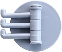 Hook Up Roterende Hook Strong viscose Towel Hanger Badkamer Muur Shelf Gratis Ponsen Naadloze Trace Hook duurzaam (Color :...