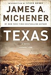 "Cover of James A. Michener's ""Texas."""