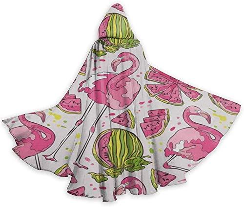 Disfraces de Halloween Capas con Capucha Bata Capa Animal Floral Caballo Caballo (A) Disfraz de Cosplay Mujeres Hombres Fiesta