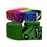 Sanabul Elastic Professional 180 inch Handwraps for Boxing Kickboxing Muay Thai MMA (Forrest Green,...