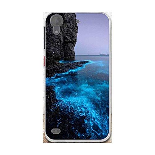 HTC Desire 630 Hülle,Desire 530 Hülle,Gift_Source [Blaues Meer] Ultra Dünn Schlank Silikon Bumper Soft TPU Schutzhülle Hülle Weiche Stoßfest Rutschfest Slim Gummi Handyhülle für HTC Desire 630/530 5.0
