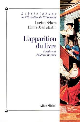 Apparition Du Livre (L'): 6044390