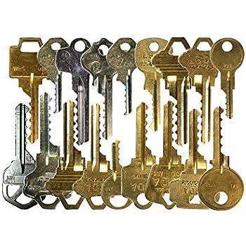 Kit de 17 llaves bumping Bump-Keys para cerraduras de serreta - España - Kit B: Amazon.es: Bricolaje y herramientas