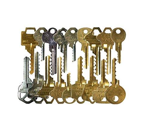 Kit de 17 llaves bumping Bump-Keys para cerraduras de serreta - España - Kit B