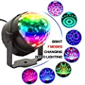 Disco Lights With RGB-7 Color, Sound Activated And Remote Control Disco Stage Strobe Ball Lights - Best For Kids Birthday Party Dance Holiday KTV Gym Band.