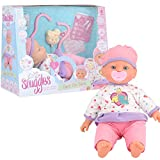 Toyrific Snuggles Baby Doll, Interactive Role Play Set, Doctors and Nurses with Baby Doll Accessories, Care for Sara