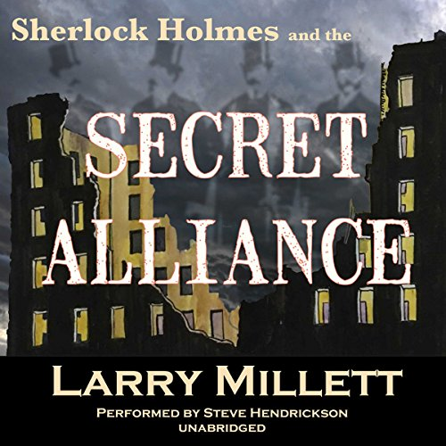 Sherlock Holmes and the Secret Alliance audiobook cover art