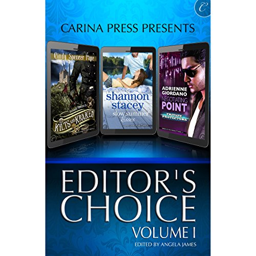 Carina Press Presents: Editor's Choice Volume I                   By:                                                                                                                                 Cindy Spencer Pape,                                                                                        Adrienne Giordano,                                                                                        Shannon Stacey                               Narrated by:                                                                                                                                 Chloe Campbell,                                                                                        Lily Bask,                                                                                        Lauren Fortgang                      Length: 9 hrs and 22 mins     34 ratings     Overall 4.1