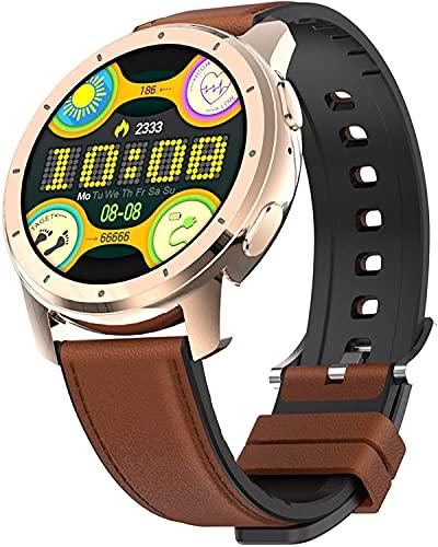 Smart Watch Fitness Tracker Relojes para hombres Mujeres con ritmo cardíaco Monitor de sueño Reloj digital impermeable con la presión arterial Podómetro Bluetooth Call Compatible Teléfonos Android
