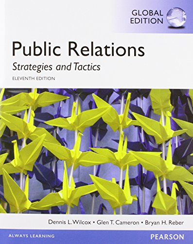 Public Relations: Strategies and Tactics, Global E