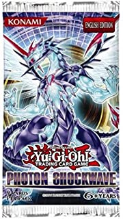 Yu-Gi-Oh Cards Zexal - Photon Shockwave - Booster Packs (5 Pack Lot)