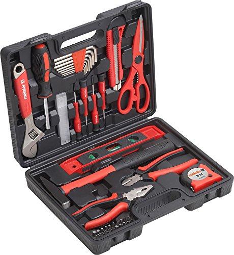 Meister 8971430 Gereedschapsset, gereedschapsset, voor dagelijks gebruik, gevuld, gereedschapsset, compleet met gereedschap