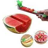 Edelstahl Wassermelonen-Windmühle Schneider - Obst Gemüse Werkzeuge - Küche Gadgets mit Melone 1...