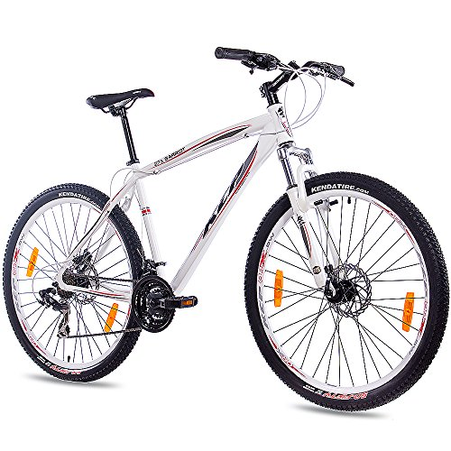 27,5' Aduana bicicleta de montaña bicicleta KCP GARRIOT Unisex con 21 marcha SHIMANO weiss
