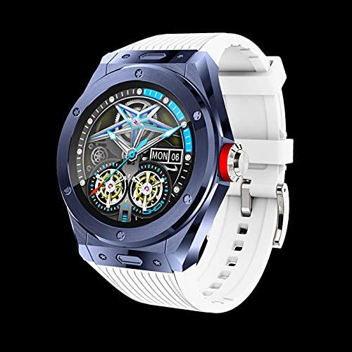 BZYZ Reloj Inteligente, Reloj de Fitness con Llamada Bluetooth con Pantalla táctil Curva de 1,28 Pulgadas, con frecuencia cardíaca, presión Arterial, rastreador de Actividad de oxígeno en Sangre(D)