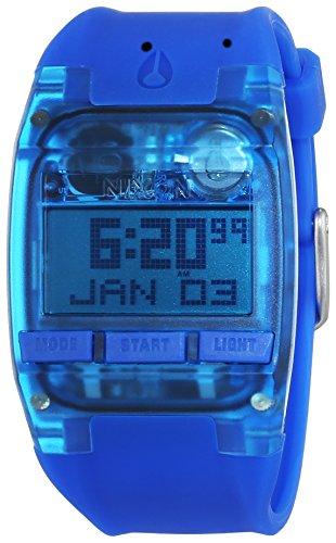 Nixon Comp All Cobalt Blue A4082041-00 - Reloj para mujeres, correa de silicona color azul
