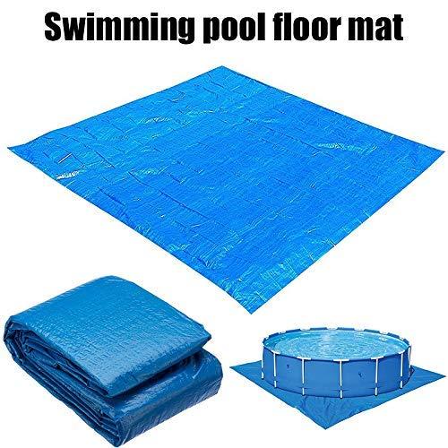 Swimming Pool Etage Protector- Bodentuch Matte, Faltbare Wasserdicht Planschbecken zcaqtajro (Color : Blue, Size : 500cmx300cm)