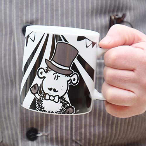 Kaffee-Tasse mit Spruch Zirkus
