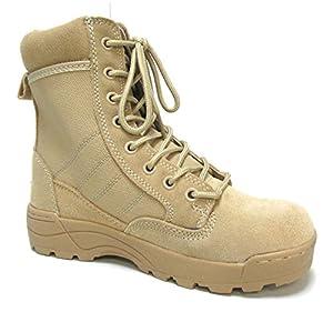 Military Uniform Supply Desert Combat Boots - Size 12 Regular