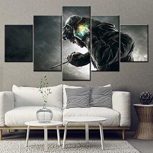 AQNY canvas schilderij spel van het jaar editie 5 stuks behang kunst canvas poster kunst schilderkunst wooncultuur 30x40 30x60 30x80cm Geen frame.