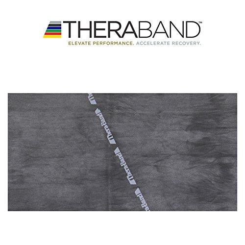 Thera-Band® original Übungsband + Übungsbuch gratis (schwarz (spezial stark))