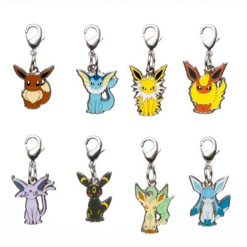 Pokemon Center Original - Metal Charm (8pcs)