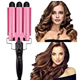 Ausale Curling Iron 3 Barrel Hair Waver Stylish Fast Heating Hair Curlers Temperature