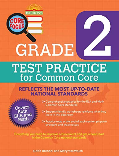 Core Focus Grade 2: Test Practice for Common Core (Barron's Core Focus)