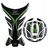 Z900 Logo Etiqueta engomada de la Motocicleta Etiqueta de Gasolina de Gas de Combustible Almohadilla de alimento para Kawasaki z900 Motor (Color : Set)
